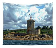 Lighthouse Ile Noire Tapestry