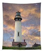 Lighthouse Visitors Tapestry