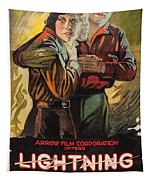 Lightning Bryce 1919 Tapestry