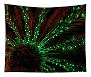 Lights Beneath The Fronds Tapestry