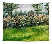Lilac Bushes In Springtime Tapestry