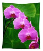 Lilac Orchid Beauties Tapestry
