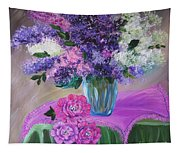 Lilacs 2 Tapestry