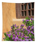 Lilacs And Adobe Tapestry