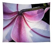 Lilies Backside Tapestry