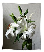 Lily Flower Tapestry