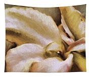 Lily In The Garden Neutral Tapestry
