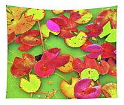 Lily Pad Faces Tapestry