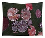 Lily Pads In The Pond Tapestry
