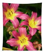 Lily Trio Tapestry
