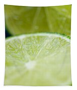 Lime Cut Tapestry