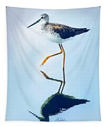 Lesser Yellow Legs Water Shadow Tapestry