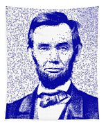Lincoln Abstract Blue Tapestry