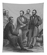 Lincoln And His Generals Tapestry by War Is Hell Store