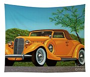Lincoln K Convertible 1935 Painting Tapestry