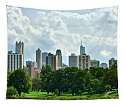 Lincoln Park Pano  Tapestry