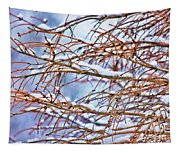 Lingering Winter Snow Tapestry