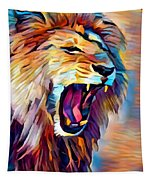 Lion 5 Tapestry
