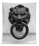 Lion Door Knocker In Brussels Tapestry