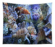 Lion Fish Tapestry