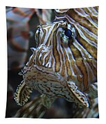 Lion Fish Profile Tapestry