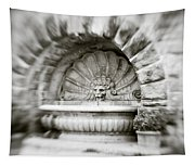 Lion Head Fountain Tapestry