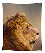 Lion Head Tapestry