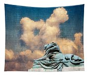 Lion In The Clouds Tapestry