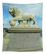 Lion On The North Side Tapestry