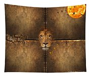 Lion Sun Tapestry