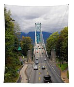 Lion's Gate Bridge Tapestry