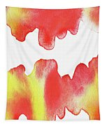 Liquid Fire Watercolor Abstract II Tapestry