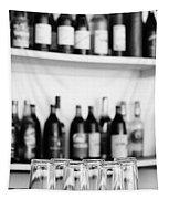 Liquor Bottles Tapestry