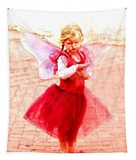 Little Angel Wings Tapestry