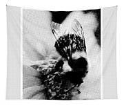 Little Bumble Bee Working For Dinner Tapestry
