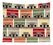 Little Houses Tapestry