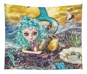 Little Mermaid Tapestry