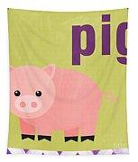 Little Pig Tapestry
