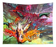 Little Red Dragonmaker Tapestry