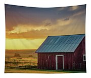 Little Red Shed Tapestry