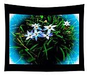 Little Star Wind Flowers Tapestry