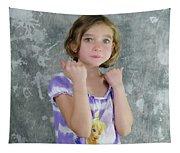 Little Tomboy  Tapestry