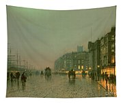 Liverpool Docks From Wapping Tapestry