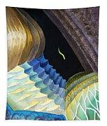 Lizard Skin Abstract II Tapestry
