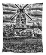 Llancayo Mill Usk 4 Mono Tapestry