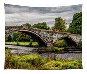 Llanrwst Bridge Panorama Tapestry