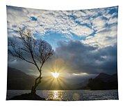 Llyn Padarn Sunburst Tapestry