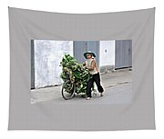 Loaded Bicycle Tapestry