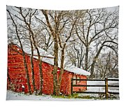 Loafing Shed Tapestry