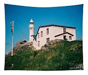 Lobster Cove Lighthouse Tapestry